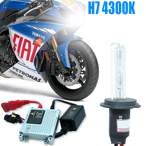 Kit Xenon Moto 12V 35W H7 4300K - BEST SALE SHOP