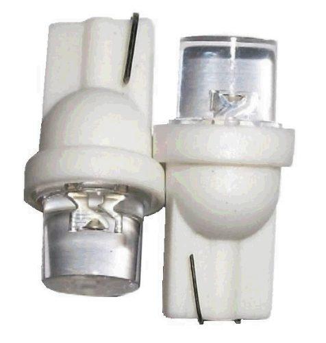 Lâmpada Led 12V T10 Importado 1 Led (Par) Branco  - BEST SALE SHOP
