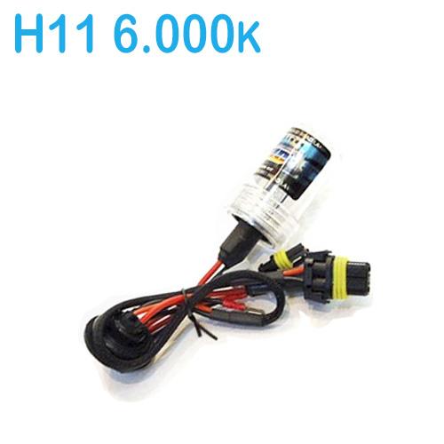 Lâmpada Xenon Reposição 12V 35W H11 6000K  - BEST SALE SHOP