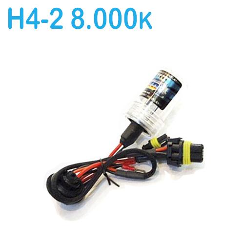 Lâmpada Xenon Reposição 12V 35W H4-2 8000K  - BEST SALE SHOP
