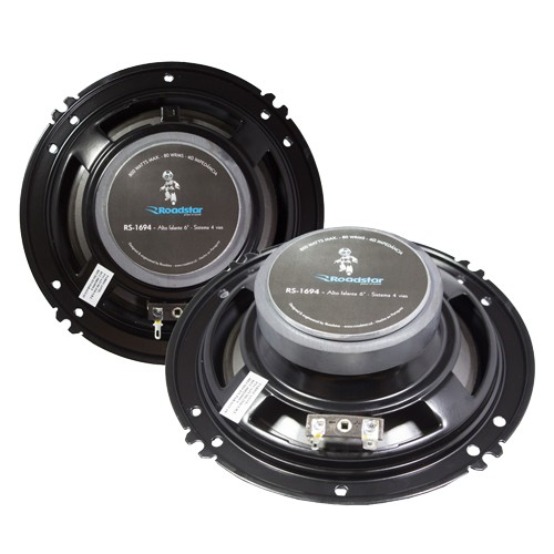 Par Alto Falante 6,5 Polegadas 160W Rms 4 Vias Quadriaxial Roadstar RS-1694  - BEST SALE SHOP