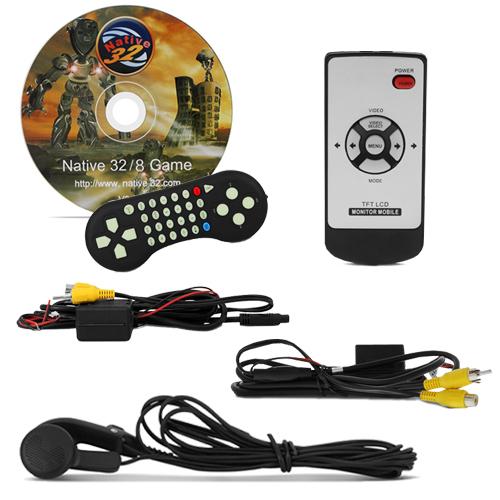 Par Encosto Cabeça Tela Monitor 1 Leitor Dvd Tech One Standard Cinza  - BEST SALE SHOP