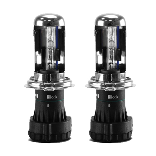 Par Lâmpada Bi Xenon Reposição 12V 35W H4-3 6000K  - BEST SALE SHOP