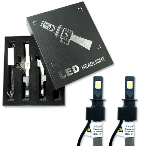 Par Lâmpada Super Led 6400 Lumens 12V 24V 30W Jl Auto Parts Manta Flex 6000K  - BEST SALE SHOP