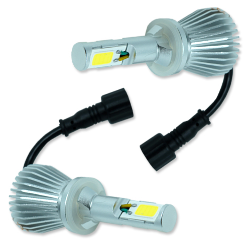 Par Lâmpada Super Led 6400 Lumens 12V 24V 32W Seven Parts H27 6000K - BEST SALE SHOP