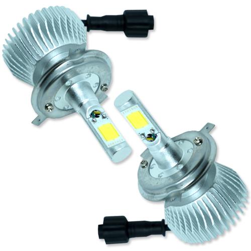 Par Lâmpada Super Led 6400 Lumens 12V 24V 32W Seven Parts H4 6000K  - BEST SALE SHOP