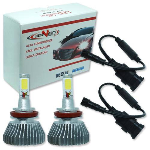 Par Lâmpada Super Led 6400 Lumens 12V 24V 32W Seven Parts H8 6000K  - BEST SALE SHOP