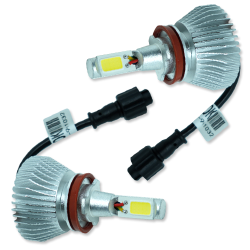 Par Lâmpada Super Led 6400 Lumens 12V 24V 32W Seven Parts H8 6000K - BEST SALE SHOP