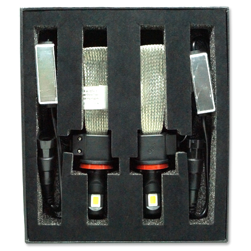 Par Lâmpada Super Led 6400 Lumens 12V 24V 30W Jl Auto Parts H11 Manta Flex 6000K  - BEST SALE SHOP