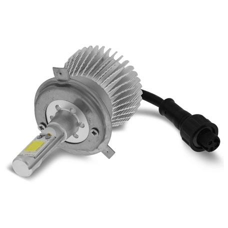 Par Lâmpada Super Led 4400 Lumens 12V 24V 32W Shocklight H4 6000K  - BEST SALE SHOP
