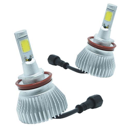 Par Lâmpada Super Led 4400 Lumens 12V 24V 35W Onnix H11 6000K  - BEST SALE SHOP