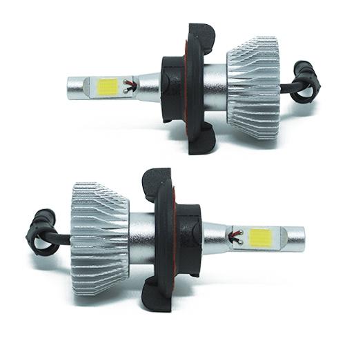 Par Lâmpada Super Led 4400 Lumens 12V 24V H13 (Bi) 6000K  - BEST SALE SHOP