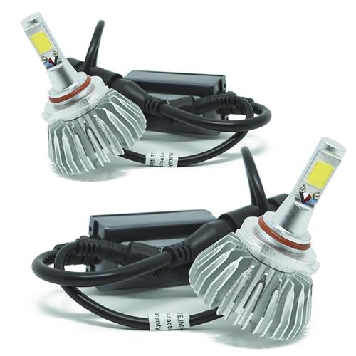 Par Lâmpada Super Led 6000 Lumens 12V 24V 40W Importway HB4 9006 6000K  - BEST SALE SHOP