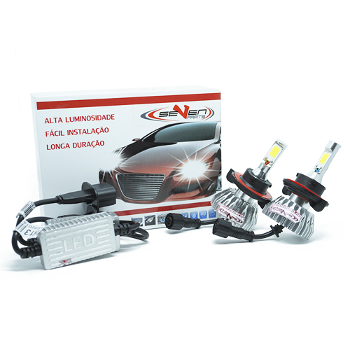 Par Lâmpada Super Led 6400 Lumens 12V 24V 32W Seven Parts H13 (Bi) 6000K  - BEST SALE SHOP