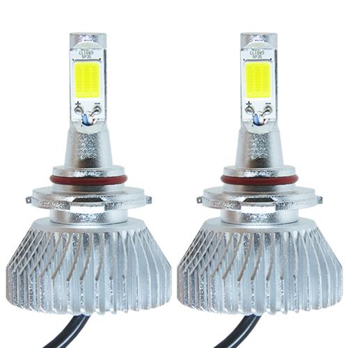 Par Lâmpada Super Led 6400 Lumens 12V 24V 32W Velox Parts HB3-9005 6000K  - BEST SALE SHOP