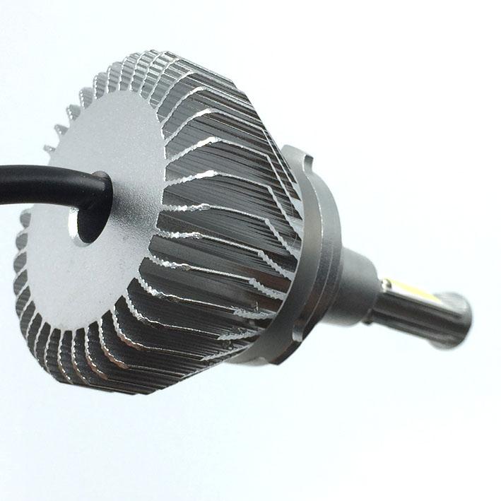 Par Lâmpada Super Led 6400 Lumens 12V 24V H1+H1+H1 6000K  - BEST SALE SHOP