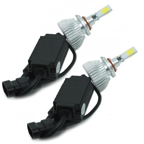 Par Lâmpada Super Led 7200 Lumens 12V 24V 40W Shocklight Power Led 3D HB3 6000K  - BEST SALE SHOP