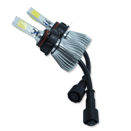 Par Lâmpada Super Led 7400 Lumens 12V 24V 3D H16 6000K  - BEST SALE SHOP