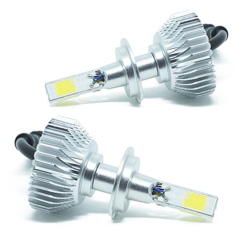 Par Lâmpada Super Led 7400 Lumens 12V 24V 3D H7 6000K  - BEST SALE SHOP