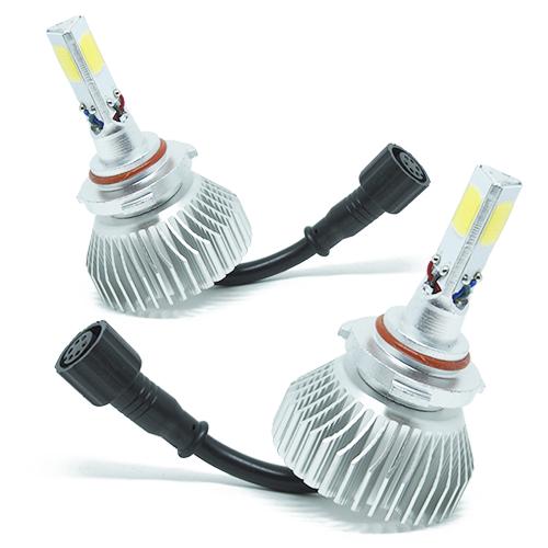 Par Lâmpada Super Led 7400 Lumens 12V 24V 3D HB3 9005 6000K  - BEST SALE SHOP