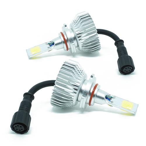 Par Lâmpada Super Led 7400 Lumens 12V 24V 3D HB4 9006 6000K  - BEST SALE SHOP