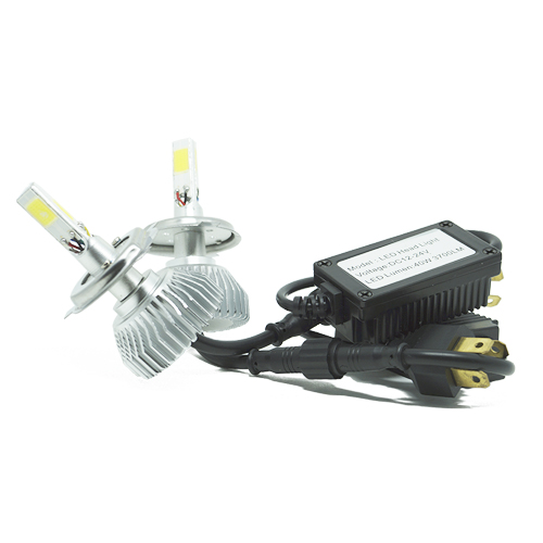 Par Lâmpada Super Led 7400 Lumens 12V 24V 40W Cinoy 3D H4 (Bi) 6000K  - BEST SALE SHOP