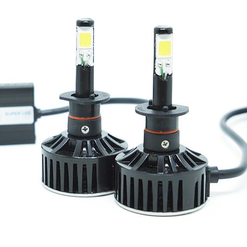 Par Lâmpada Super Led 7400 Lumens 12V 24V 48W Tech One H1 6000K  - BEST SALE SHOP