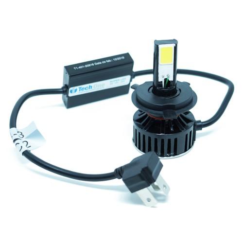 Par Lâmpada Super Led 7400 Lumens 12V 24V 48W Tech One H4 (Bi) 6000K  - BEST SALE SHOP