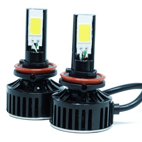 Par Lâmpada Super Led 7400 Lumens 12V 24V 48W Tech One H8 6000K  - BEST SALE SHOP