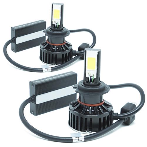 Par Lâmpada Super Led 7400 Lumens 12V 24V H7 6000K  - BEST SALE SHOP