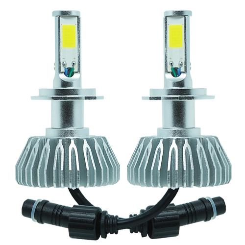 Par Lâmpada Super Led 8000 Lumens 12V 24V 3D H7 6000K  - BEST SALE SHOP