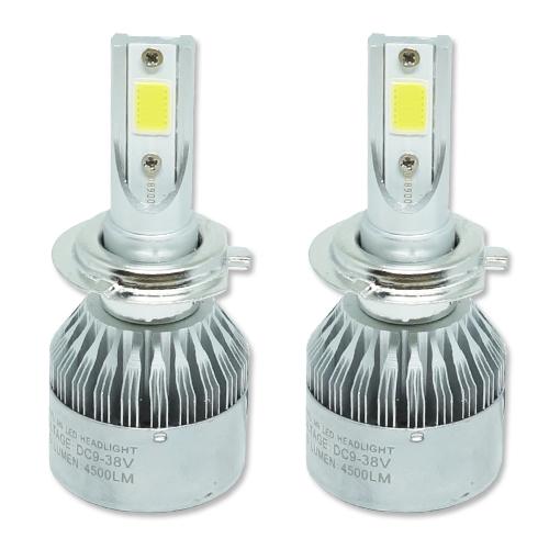 Par Lâmpada Super Led 9000 Lumens 12V 24V 40W Guzz H7 6000K  - BEST SALE SHOP