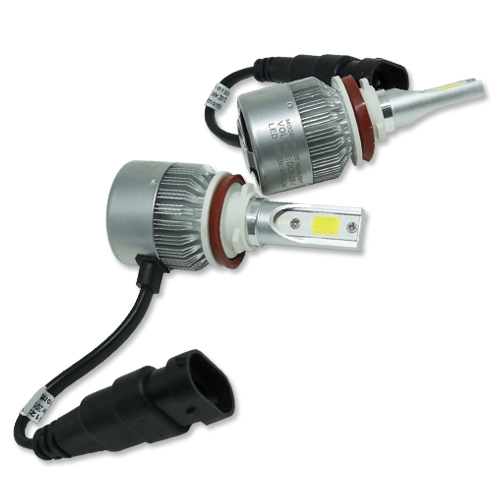 Par Lâmpada Super Led 9000 Lumens 12V 24V 40W Guzz H8 H9 H11 6000K - BEST SALE SHOP