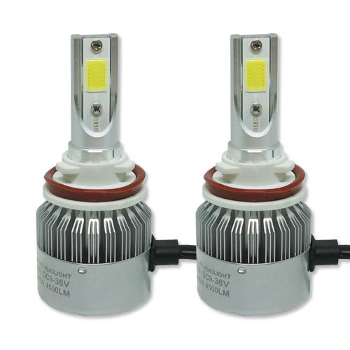 Par Lâmpada Super Led 9000 Lumens 12V 24V 40W Guzz H8 H9 H11 6000K  - BEST SALE SHOP