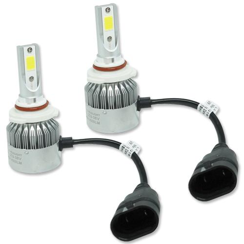 Par Lâmpada Super Led 9000 Lumens 12V 24V 40W Guzz HB3 9005 6000K  - BEST SALE SHOP