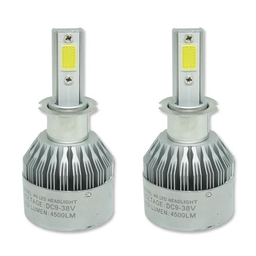 Par Lâmpada Super Led 9000 Lumens 12V 24V H3 6000K  - BEST SALE SHOP
