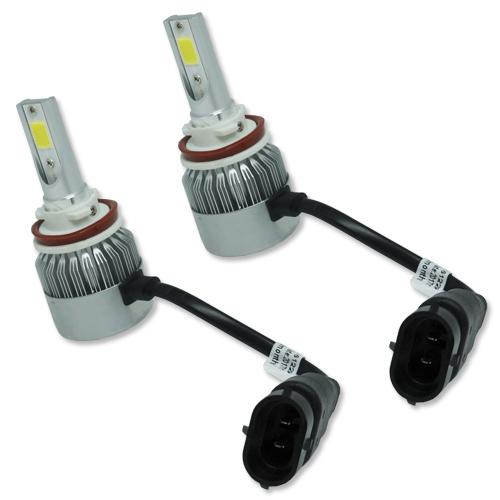 Par Lâmpada Super Led 9000 Lumens 12V 24V H8 6000K  - BEST SALE SHOP