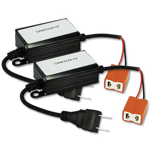 Par Lâmpada Super Led com Canceller 6400 Lumens 12V 24V 32W Seven Parts H7 6000K  - BEST SALE SHOP