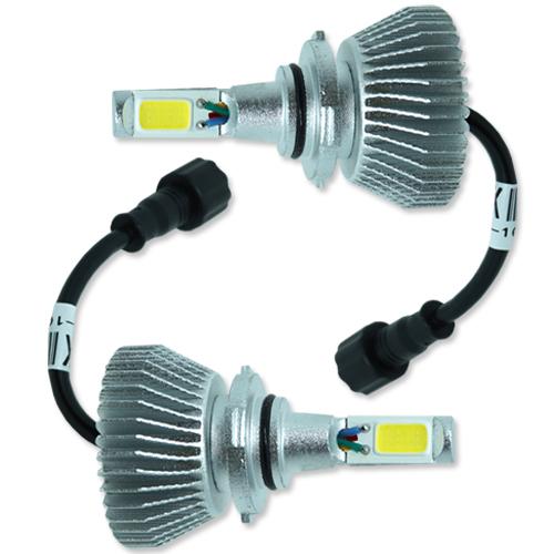 Par Lâmpada Super Led com Canceller 6400 Lumens 12V 24V 32W Seven Parts HB4 6000K  - BEST SALE SHOP