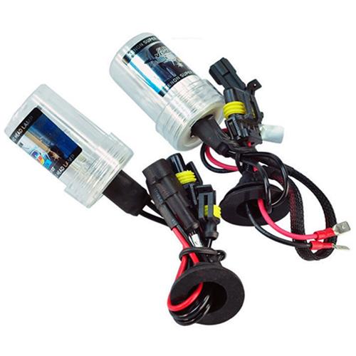 Par Lâmpada Xenon Reposição 12V 35W H1 8000K  - BEST SALE SHOP