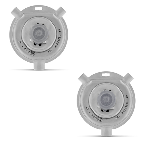 Par Lâmpada Xenon Reposição 12V 35W H4-2 8000K  - BEST SALE SHOP
