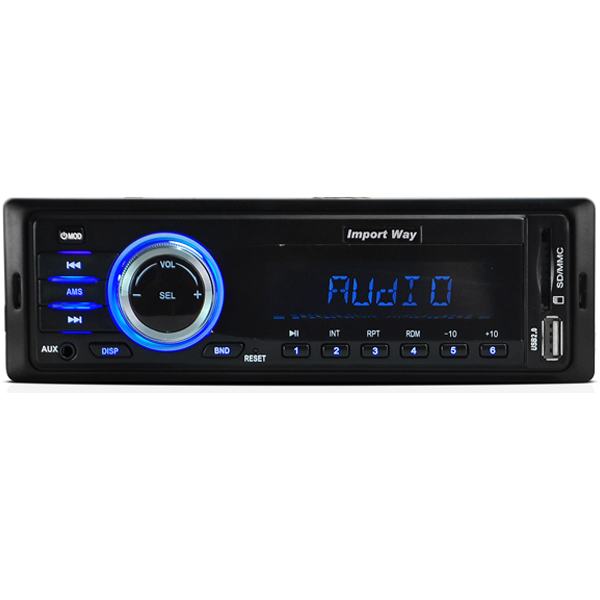 Rádio Mp3 Automotivo Importway KV-9602 Usb Sd Aux  - BEST SALE SHOP