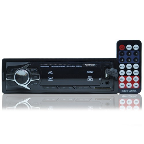 Rádio Mp3 Player Automotivo Bluetooth Fm Sd Usb Auxiliar Controle  - BEST SALE SHOP