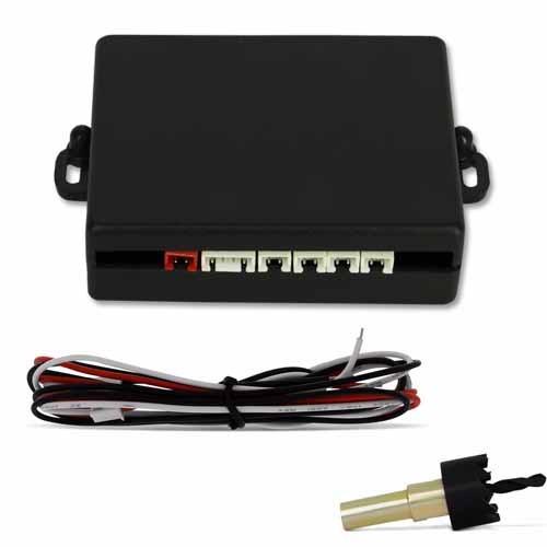 Sensor de Ré Estacionamento Universal 4 Pontos Display Led 18mm Preto Fosco  - BEST SALE SHOP