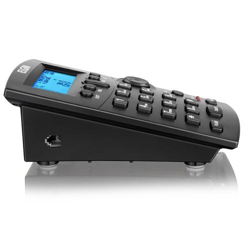 Telefone Headset com Base Discadora Teclado e Identificador de Chamadas Elgin HST 8000 Preto  - BEST SALE SHOP