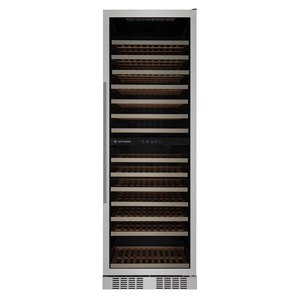 Adega Elettromec Inox - 140 Garrafas - 110v - Cvs140p2z