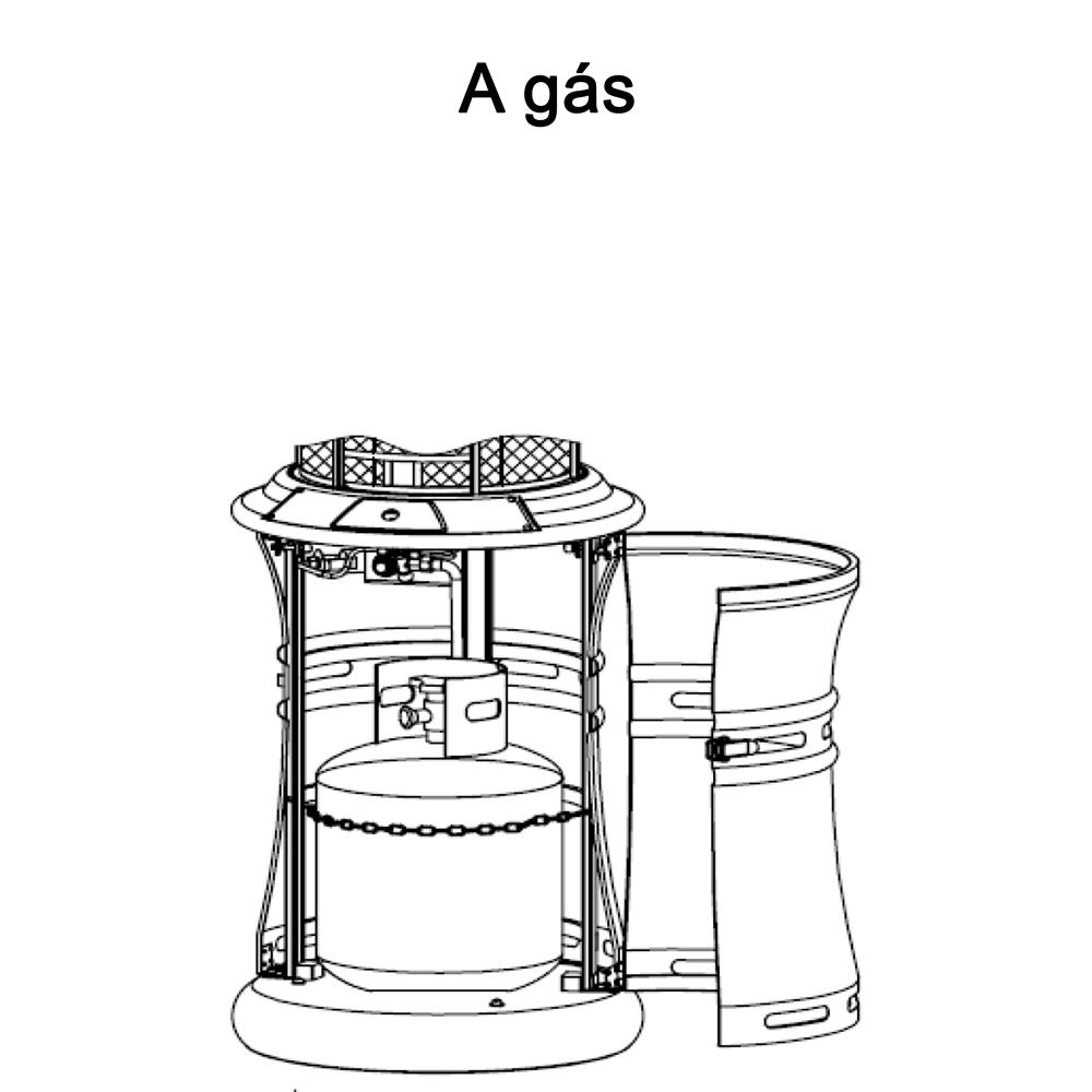 Aquecedor a Gás Externo