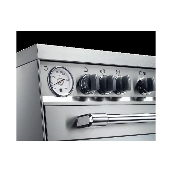 Fogão de Piso 120cm 5Q CFP 1200 Forno Duplo elétrico e gás Tecnogás