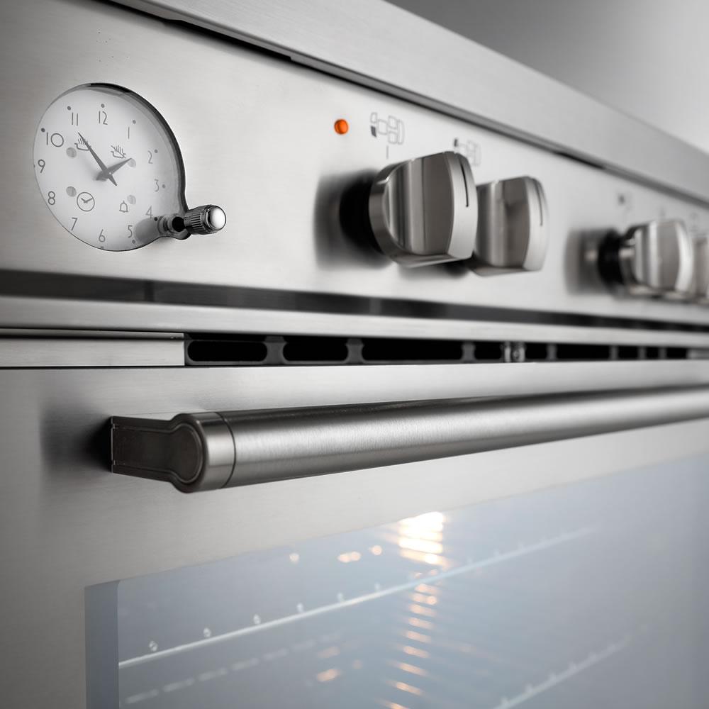 Fogão de Piso Argenta 120 cm 5Q FFE-5Q-120-XX-2TGA Forno elétrico Elettromec