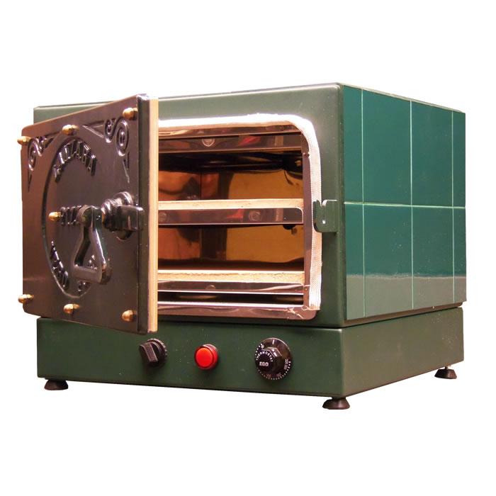 Forno Elétrico de Pizza VL1500 38cm Verde Lanzara